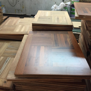 2015 Customized Burma Teak Parquet Solid Wood Flooring