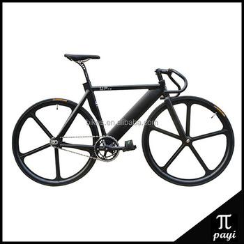 Singlbicycle 700c Aluminium Alloy Frame Fixie Road Bike 70mm Rim ...