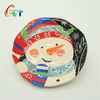 Bulk Ceramic Plates Wholesale Christmas Decor Ceramic Plates & Bulk Ceramic Plates Wholesale Christmas Decor Ceramic Plates - Buy ...