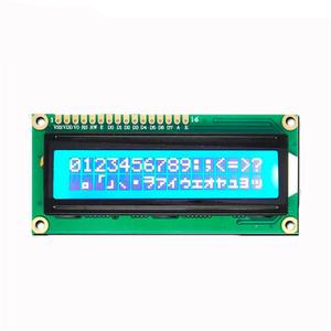 1602 LCD Display Module 5V 2x16 IIC I2C Serial Blue Backlight Screen For  Arduinos UNO R3 Raspberry Pi 3