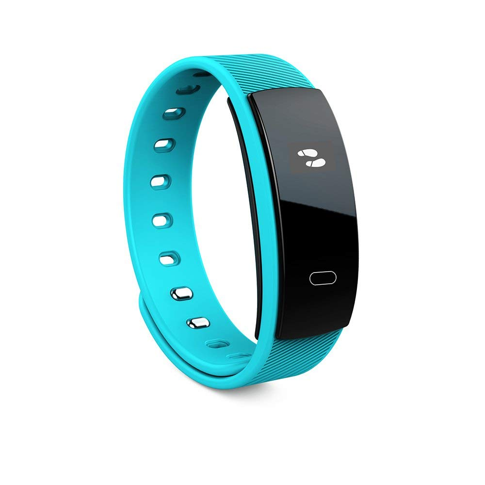 Fitness Tracker, Smart watch Bluetooth Wristband Pedometer Smart Bracelet Sleep Monitor, Waterproof Activity Tracker Watch for Android & IOS (Blue)