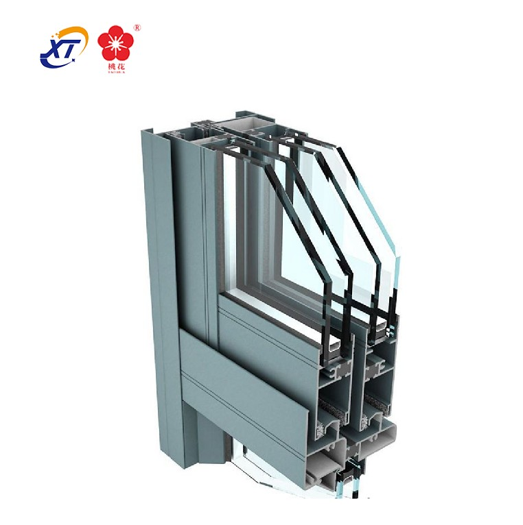 Excellent quality aluminum thermal break triple glazed windows
