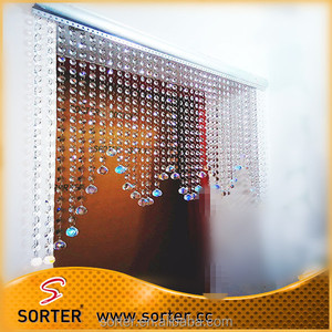 New style crystal bead door curtain for home/hotel/cafe/bar/salon decoration
