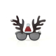 YJ Brand Funny Shiny Reindeer Antler Sunglasses Christmas Hat Novelty Party Gift Glasses Costume New Year Decorative For Youth