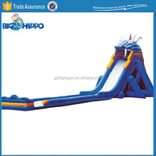 Giant Inflatable Dragon Bouncy Water Slide