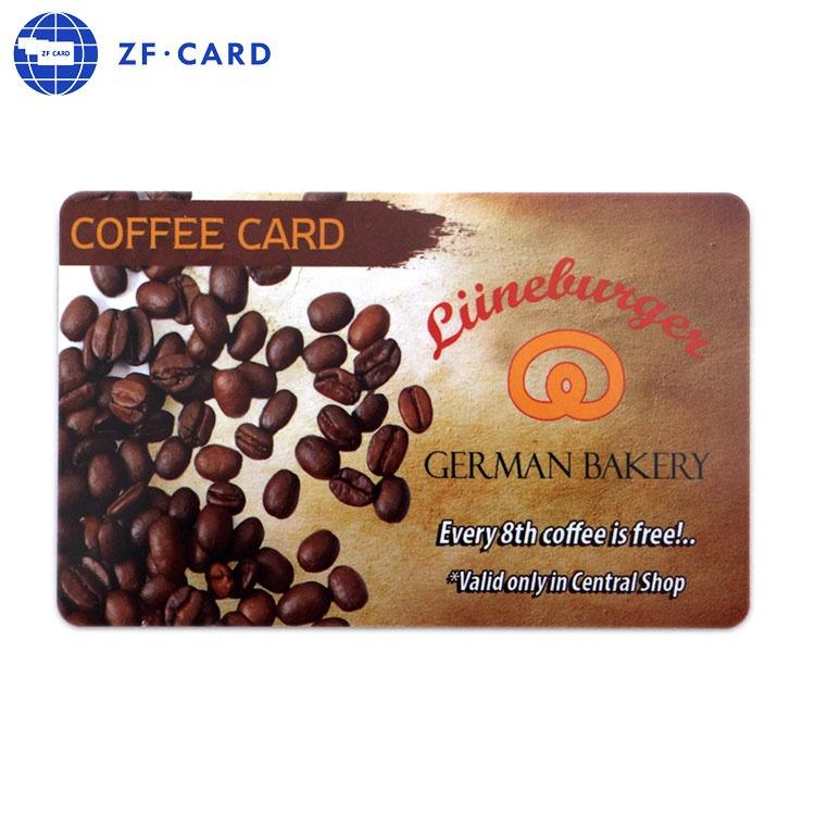 Bonus VIP cards with logo UV printed