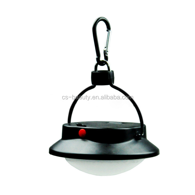 Outdoor Camping 60 LED Lamp Draagbare Lantaarn Vissen Licht met Lampenkap Cirkel Tent Wit Licht Camping Opknoping Lamp