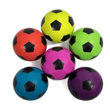 Fútbol de goma de patio de goma pelota de fútbol con bolsa de malla y bomba 5df36feee235f