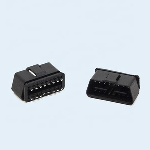 Custom 24V J1962 OBD2 Male Plug OBD 16 Pin Connect