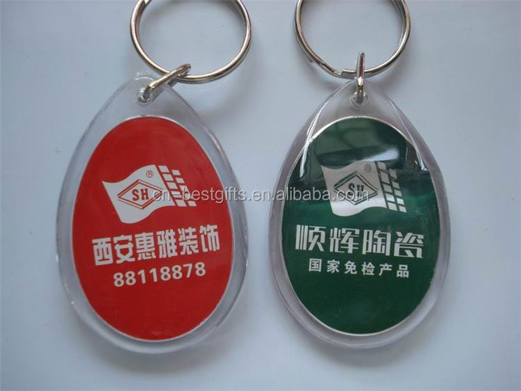 Most popular Different types photo frame acrylic key chain manufacturer sale