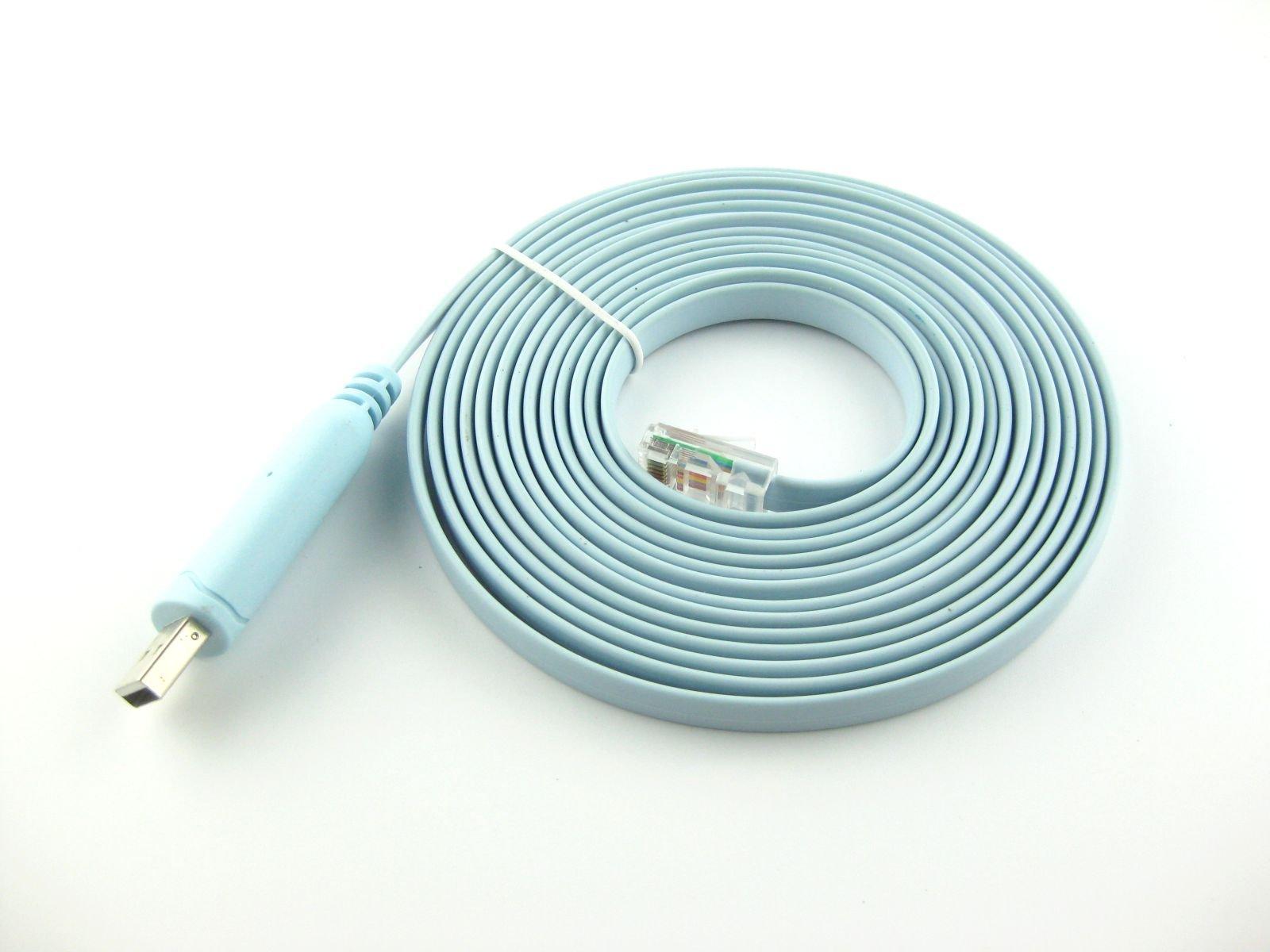Buy Green-utech 12ft USB Rs232 - Rj45 Adapter for Cisco Router ...