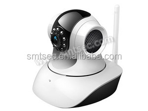 SIP-TM02W h.264 sd card storage ip camera 4.2mm Lens CCTV Wireless Indoor Dome P/T P2P IP Camera for Video ip surveillance camer