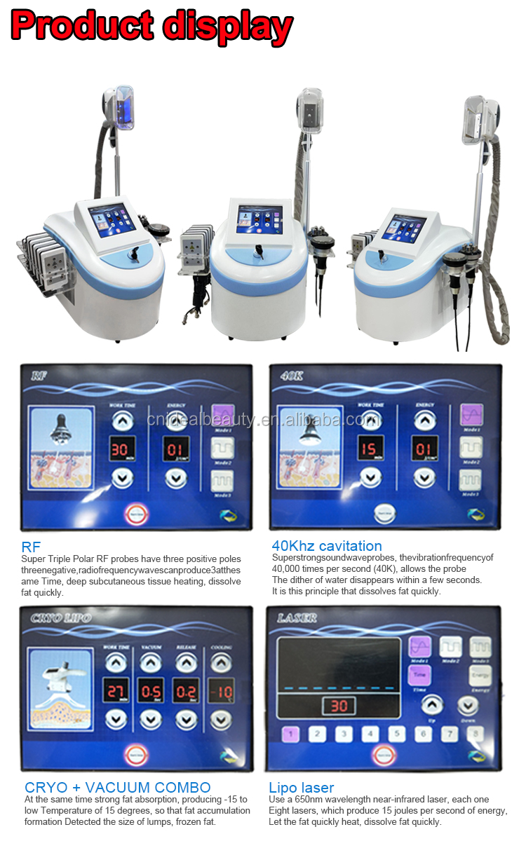 Portable fat freezing cryotherapy machine price (S007A)