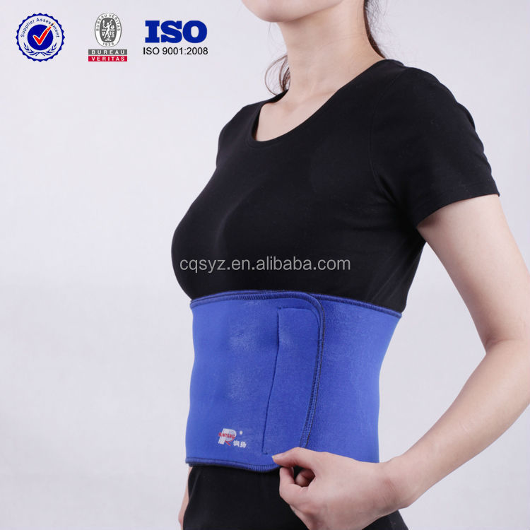 blue Fashion neoprene waterproof China Manufacturer pain relief lumbar support belt gift for elders