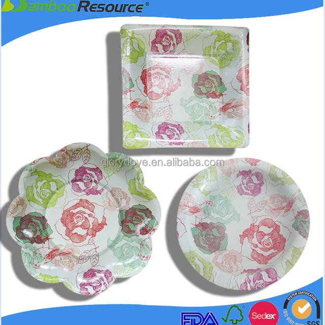 2016 High quality Eco Friendly New design Round Paper plates  sc 1 st  Alibaba & Buy Cheap China eco friendly paper plates Products Find China eco ...