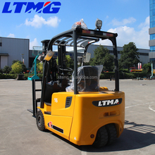 new price 1.5 ton three wheel electric forklift for warehouse