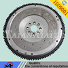 Finely processed engine flywheel,auto engine parts,alloy steel forging,flywheel with gear ring.