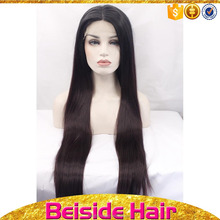 Factory Direct Synthetic Lace Front Wig, Can Be Customized Various Types Synthetic Wig