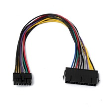 24 Pines A 14 Pines ATX Cable 30 cm para Lenovo Motherboard