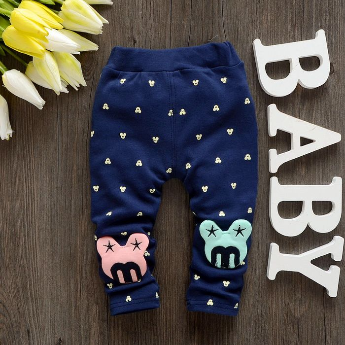 Baby girls leggings for 1 3 years old 2016 Spring Autumn new fashion cotton girl pants