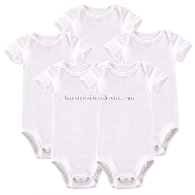 ba546c101 ropa de bebé mameluco. 2017 New Born Baby Clothing Baby Toddler Clothing  Unisex Organic Cotton Plain White Baby Romper