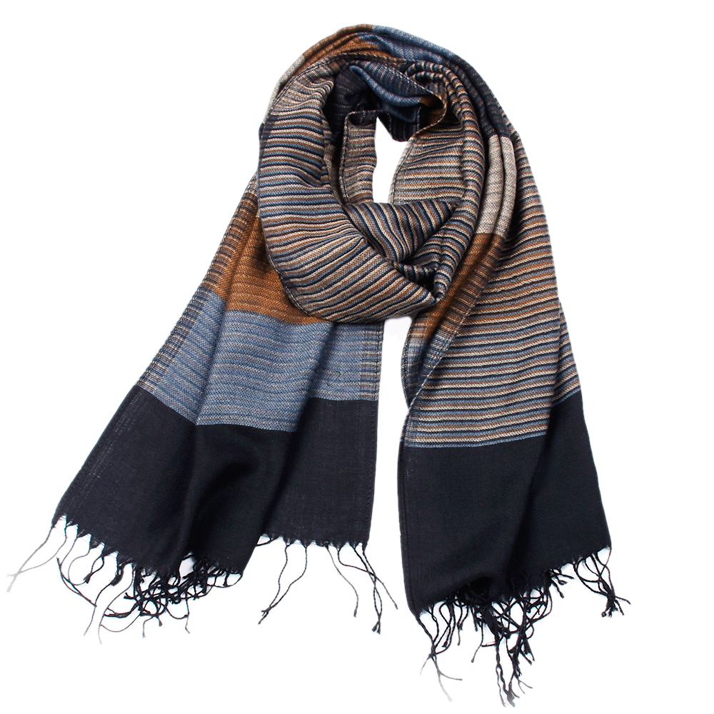 OEM ODM new design custom fashion winter thick men 100% cashmere scarf