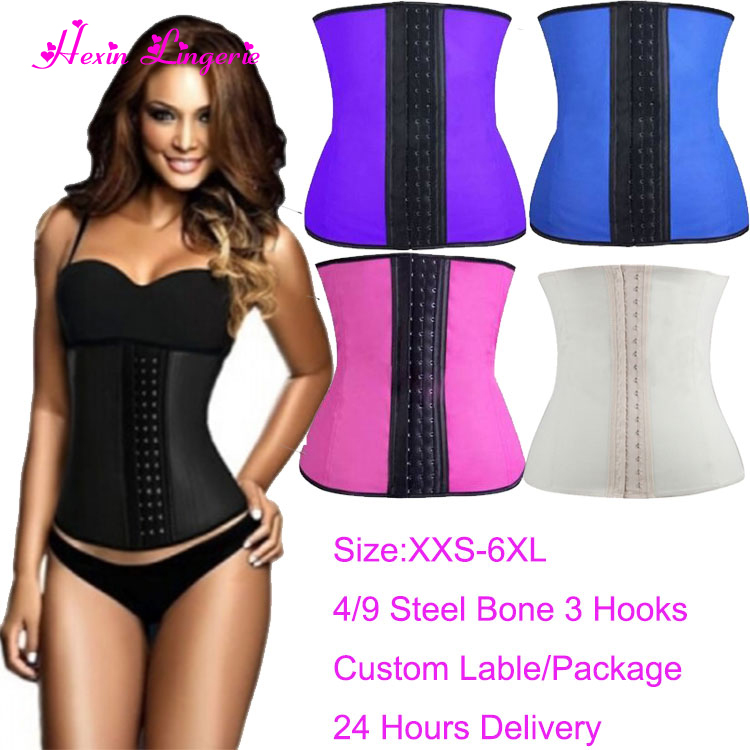 Alibaba.com / Private Label OEM Plus Size Latex Cincher Corset Colombian Waist Cincher Waist Trainer