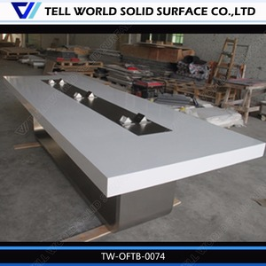 Modern acrylic conference table design power hockey table