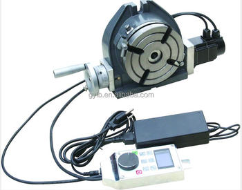 Lb tsw intelligent cnc horizontal vertical rotary table for Cnc rotary table with stepper motor