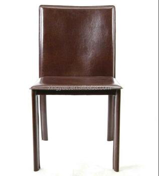 Sedia Sala Da Pranzo Pelle.Salotto Moderno Acciaio Metallo Rivestita Ristorante Comfort Sedia
