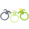 Fruit Shape Teethers Baby Eva Teether With Water Filled Silicone Teething Ring