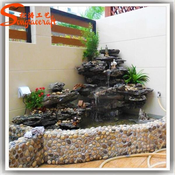 vente chaude moules pour fontaine murale moderne jardin d coratif cascade en fiber de verre. Black Bedroom Furniture Sets. Home Design Ideas