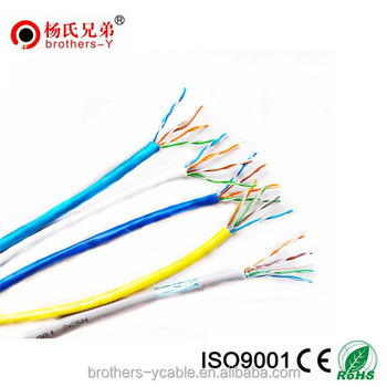 Lan Twisted Utp Cat5 Network Cable Indoor Cable Copper Cat 5e Cable ...