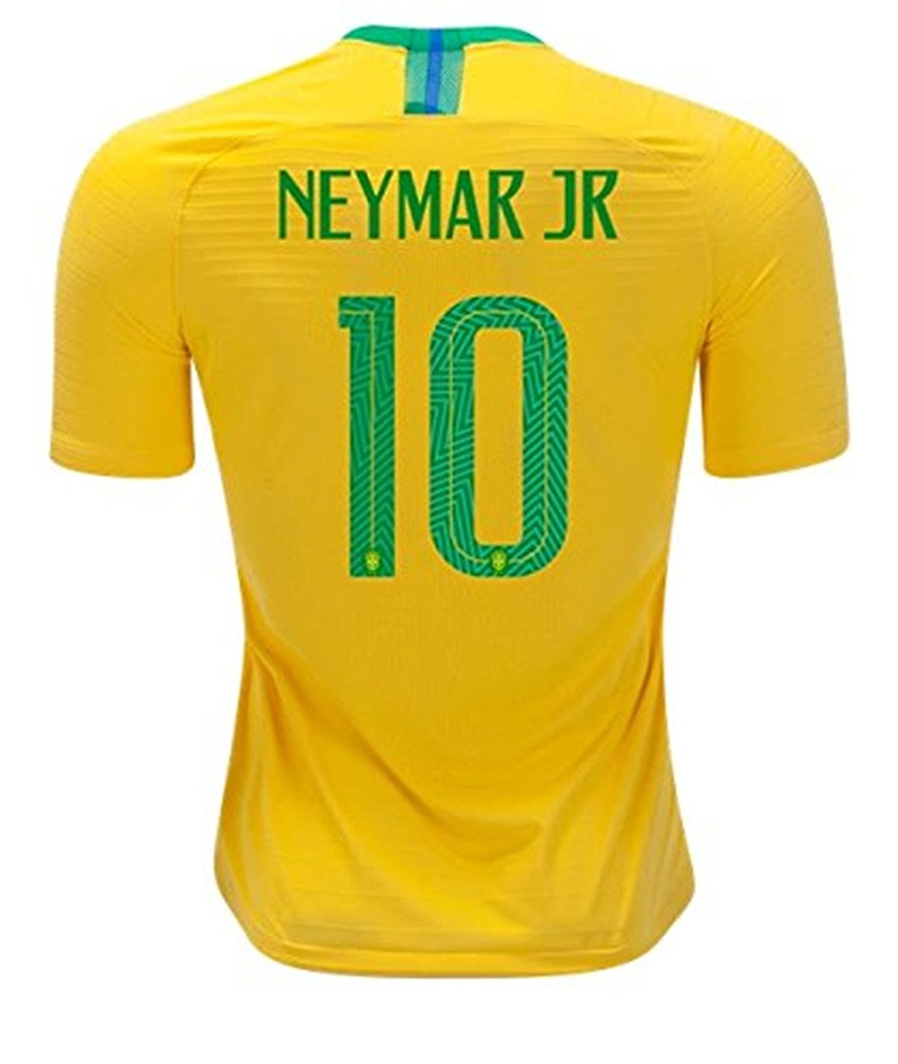 2a59e1af449 Jia-Storsyi 2018 Russia World Cup Neymar JR  10 Brazil National Home Men Soccer  Jersey Color Yellow Size M