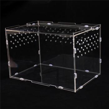 New Products Custom Acrylic Reptile Terrarium Habitat Plastic
