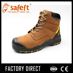 Japanese used heated carolina waterproof men steel toe work boots/safety boots