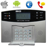 96 wireless gsm alarm system,king pigeon gsm alarm system,home security gsm alarms English voice prompt S100Pro