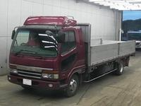 1988 Mitsubishi Fuso Fighter 4 Tons Flatbed Truck Yk22916/p ...