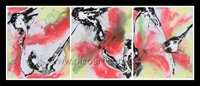 The series original abstract oil painting