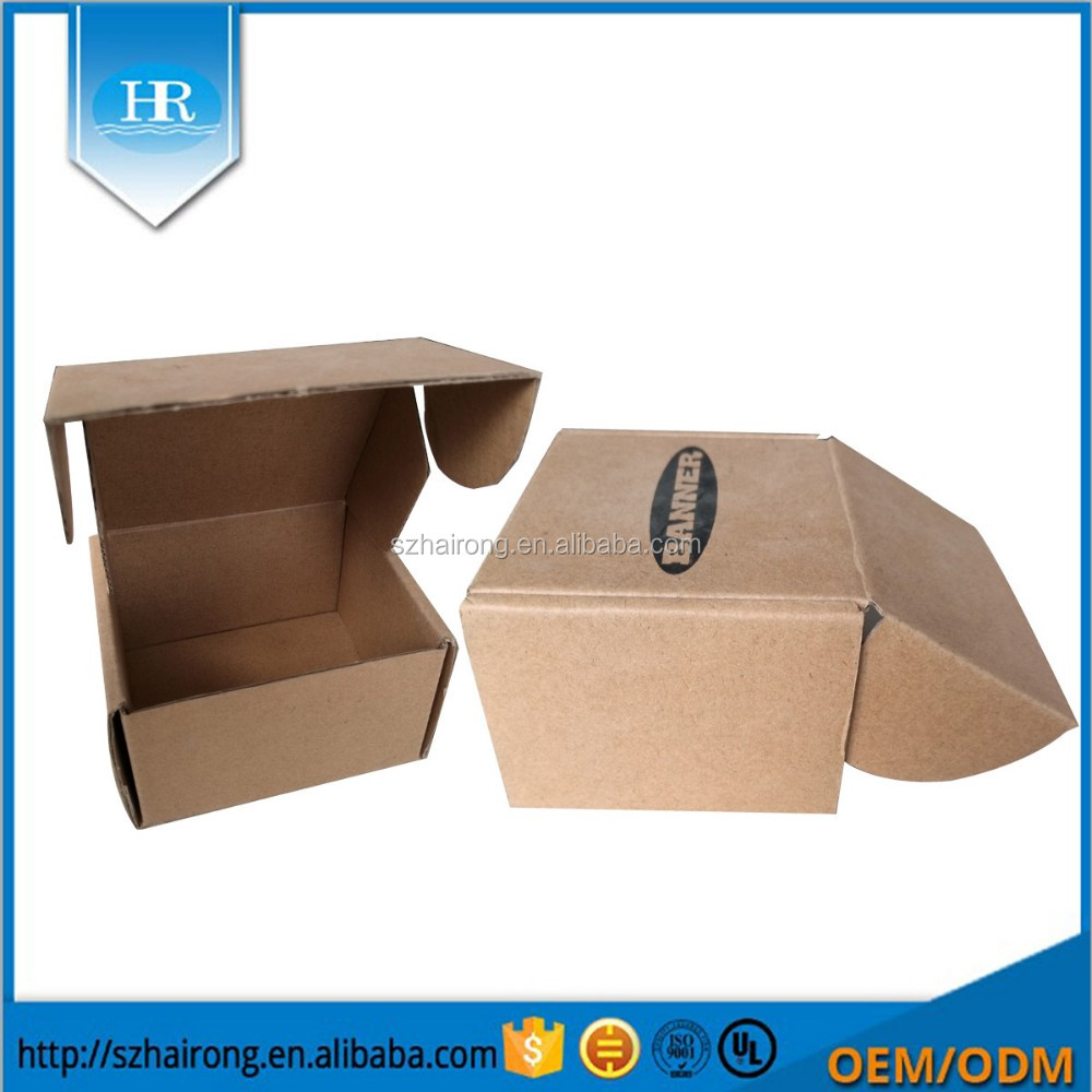 Custom Full Printting Logo Design Diy Gift Box Favour Kraft Paper Box