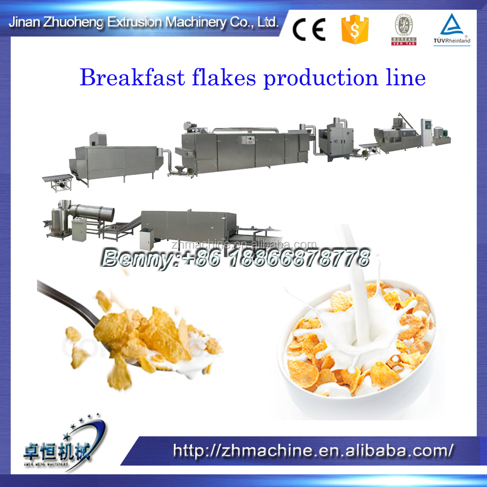 Kellogg Frosted flakes extrusion equipment