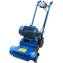 Concrete pavement cleaning machine
