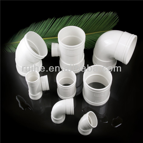 Fast delivery and EXW price types plastic pvc water pipe conduit