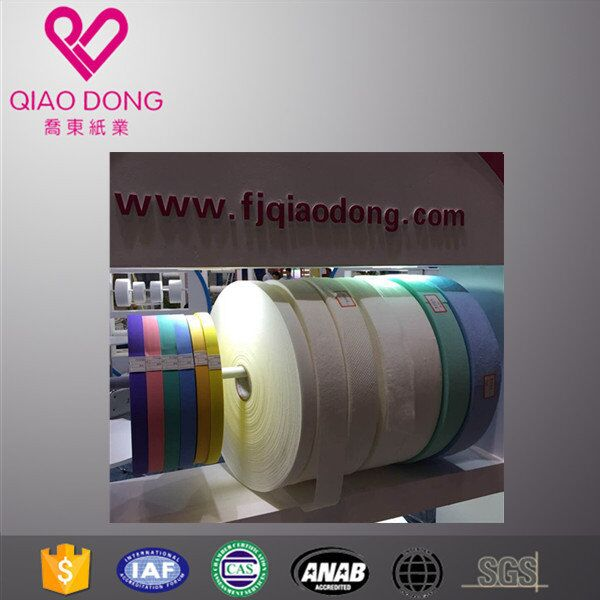 OEM sanitary napkin raw materials quick easy tape fast easy tear tape in china
