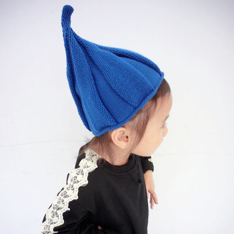 2015 New Arrival Lovely Kids Hats Korean Fashion Autumn Winter Warm Girls & Boys Knitted Hat Cute Beanies Cool Shilly Peaked Cap