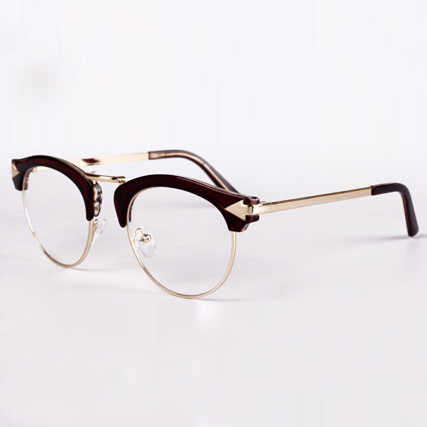 05d5e9b443a Buy 2015 Vintage Women Metal Arrow Semi Rimless Frames Glasses Men Round  Eyeglasses Optical Eyewear