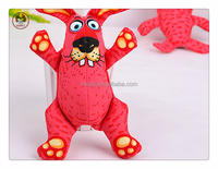 The incisor pink rabbit pet product stuffed plushp honate dog toy