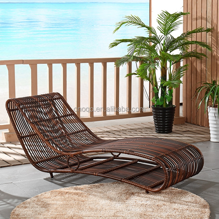 Hotel Swimming Pool Side Beach Bed Used Outdoor Lounge Furniture Lounge Chair T526