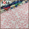 newly Polyester flowers embossed Fabric for lady clothes/garment BK-FB012