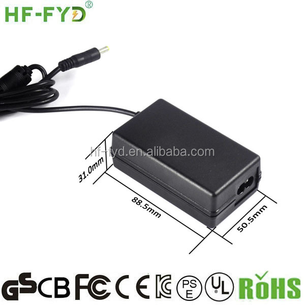 HF-FYD FY1202500 DC 12V 2.5A Power Supply Laptop Ac Adapter For Fujitsu